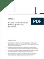 Gestión del desarrollo de políticas y prácticas inclusivas UNESCO 1