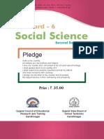 Standard 6 English Medium Social Science Semester 2