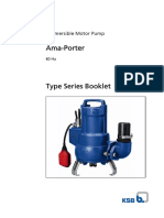 KSB - Submersible Pump - Ama Porter 501 SE