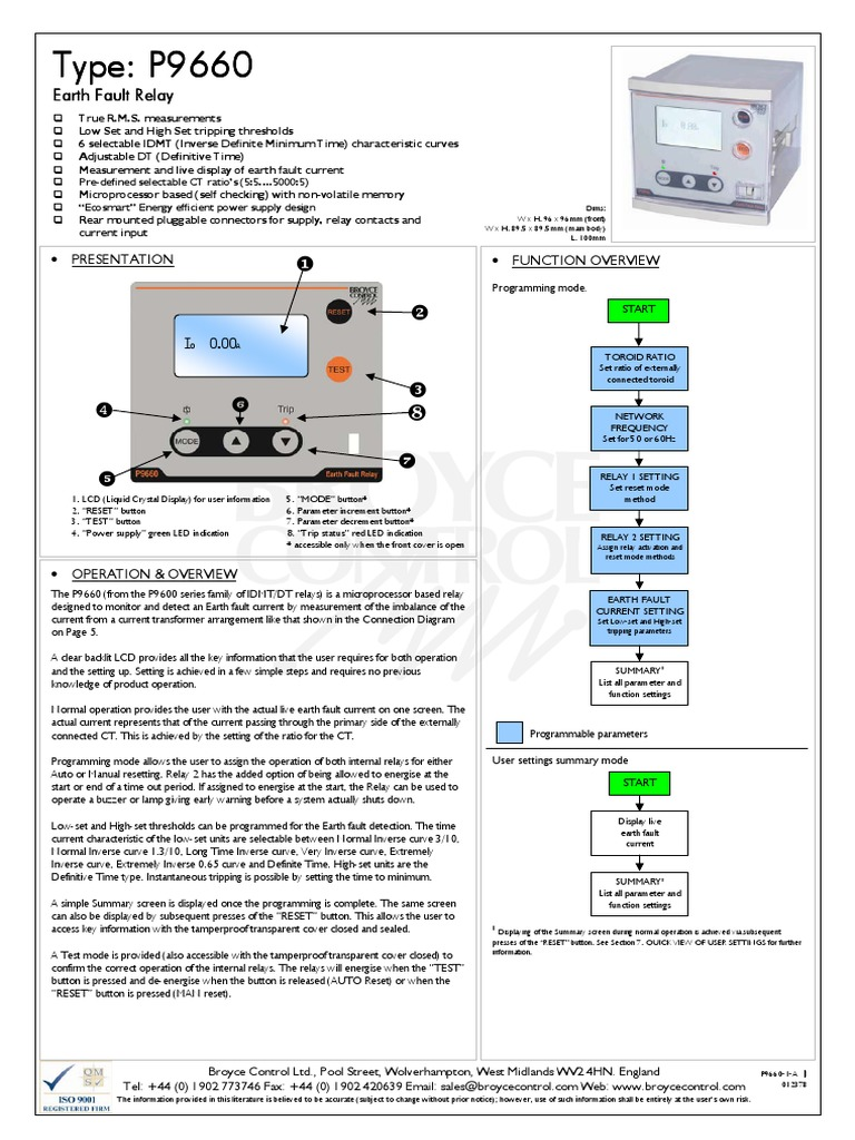 Time Delay Relays P9660 1 Apdf Relay Electrical Connector Current Definition