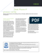 Datasheet OpenScape Desk Phone IP