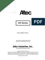 Altec An755 Manual de Montaje