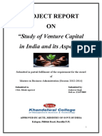 Project on Venture Capital
