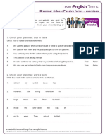 Gs Passive Forms - Exercises 0