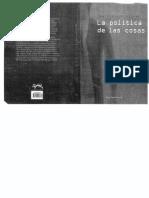 Jean Claude Milner - La Política de Las Cosas