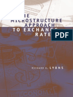 The Microstructure Approach to Exchange Rates