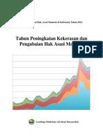 1360640659 Laporan Situasi Hak Asasi Manusia Di Indonesia Tahun 2012