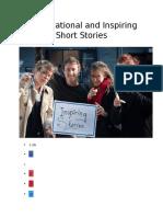 5 Motivational and Inspiring Short Stories