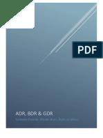 ADRs, BDRs e GBRs
