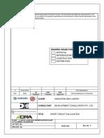 Short Circuit Calculation Report