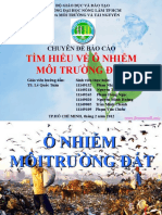 Bai o Nhiem Moi Truong Dat