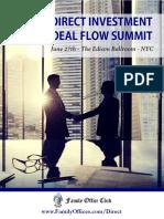Deal Flow Agenda