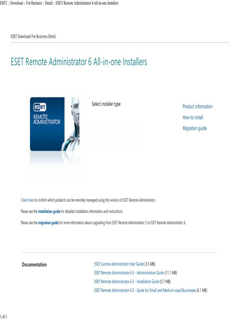 ESET __ Download __ for Business __ Detail __ ESET Remote