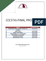 Ce374 Project (Hydrology)