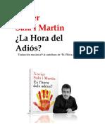 Sala-i-Martin Xavier - Hora Del Adios ESP