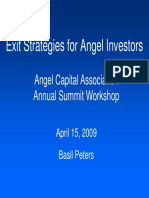Exit Strategies for Angel Investors 20090415 Part 1