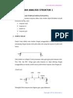 Kuliah Analisis Struktur 1