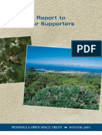 Landscapes Newsletter, Winter 2003 ~ Peninsula Open Space Trust