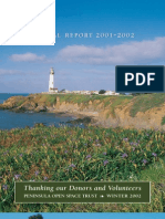 Landscapes Newsletter, Winter 2002 ~ Peninsula Open Space Trust