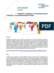 Healthcare, Regulatory and Reimbursement Market Analysis, Price and Forecast
