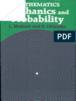 Mathematics Mechanics and Probability by L.bostock and S.chandler