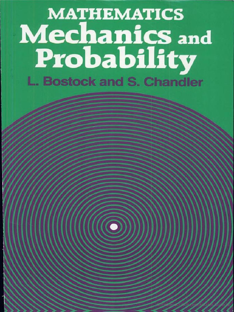 Mathematics mechanics and probability by lstock and sandler fandeluxe Image collections