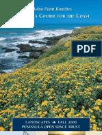 Landscapes Newsletter, Fall 2000 ~ Peninsula Open Space Trust