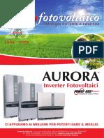 Scheda Tecnica Inverter Fotovoltaico Aurora