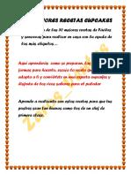 Cupcakes 5o Recetas Faciles