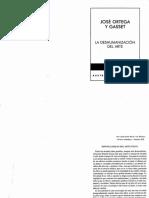 LA DESHUMANIZACIÓN DEL ARTE - ORTEGA Y GASSET..pdf