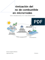 Minimización Del Consumo de Combustible en Micro Redes