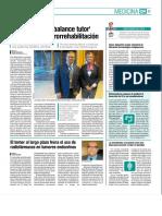 Diario Médico destaca la contribución de la Red Menni en el Congreso de SERMEF