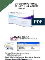 Membuat Form Input Data Vb-net2010