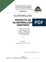 ALCANTARILLADO-SANITARIO-TECOH