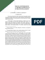 d Alberstein Identity in Conflict Resolution