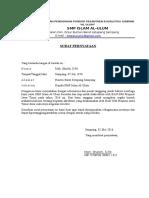 Surat Pernyataan Siap Akreditasi