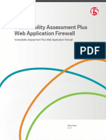 Vulnerability Assessment Plus Web Application Firewall