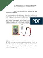 Cuestionario Circuitos Electricos Reporte 1