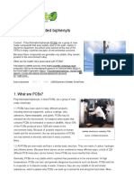 Scientific Facts on PCBs Polychlorinated Biphenyls