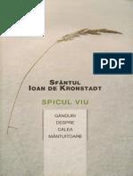 Ioan de Kronstadt - Spicul viu.pdf