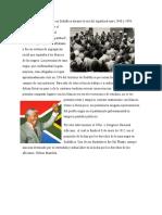La lucha del pueblo Sudafricano por terminar el colonialismo y el sistema del Apartheid