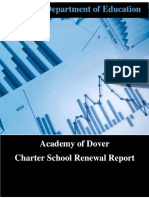 Academy of Dover 2016 Charter School Renewal Framework FINAL Revised