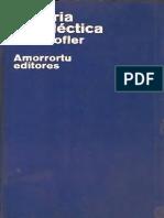 Kofler, Leo - Historia y Dialectica