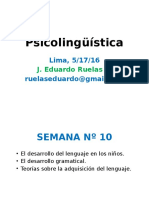 Psicolingüística Semana Nº 07
