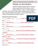 Como Utilizar Un Diccionario