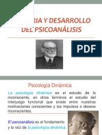 Historia y Desarrollo Del Psicoanalisis