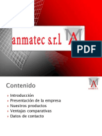 Presentacion Corporativa Anmatec Srl