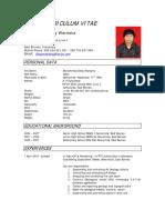 CV Deddy Wardana