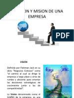 Misión y Visión de una Empresa