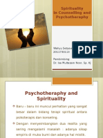 Psychotheraphy an Spirituality